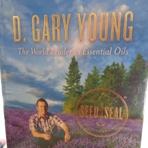 D. Gary Young Living Hardcover Book New Sealed